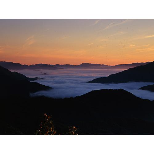 北川ダムの雲海