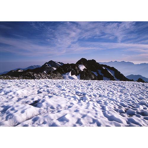 雪溪と富士ノ折立