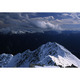 新雪と針ノ木岳