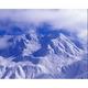雪に覆われた立山