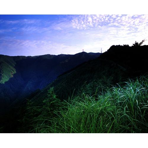 早朝の和泉葛城山