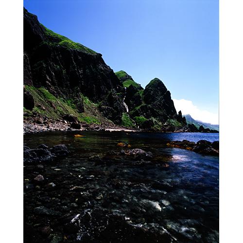 礼文小滝と海岸