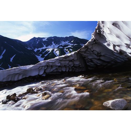 雪溪と立山